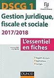 DSCG 1 - Gestion juridique, fiscale et sociale 2017/2018- 7e ...