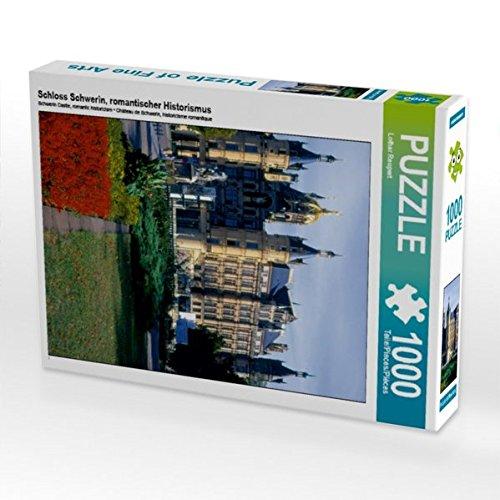 Schloss Schwerin, romantischer Historismus 1000 Teile Puzzle hoch (CALVENDO Orte)