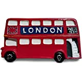 # 1 más vendidas – autobús de Londres imán para nevera Souvenir – Routemaster – Hop On/Hop Off – tradicional rojo autobús de Londres – Imán para nevera – Ruta número 7 – CHELSEA – Sloane Square – Big Ben – Trafalgar Square – Whitehall – Downing Street – London Eye – Piccadilly Circus – Leicester Square – Covent Garden – la ciudad – Tour – Ornament – Sight Seeing – doble decker 100% Satisfacción garantizada, cerámica, Black, Red, White, blue
