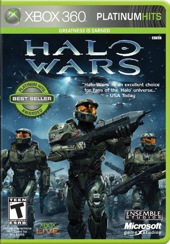 Microsoft Halo Wars Platinum Hits, Xbox 360, ENG - Juego (Xbox 360, ENG, Xbox 360, Estrategia, T (Teen), Xbox 360)