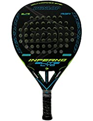 Pala de pádel Dunlop Inferno Elite LTD Yellow - Blue
