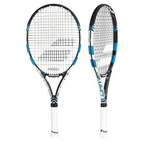BABOLAT Pure Drive Jr 26Wim Tennis Rackets, Unisex Children, Pure Drive Jr 26 WIM, blue / white, 1