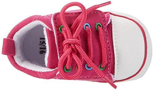 SterntalerBaby-schuh - Scarpine e pantofole primi passi  Bimba 0-24 Rosa (Magenta)