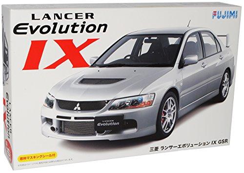 mitsubishi-lancer-evo-evolution-ix-9-gsr-grau-bausatz-kit-1-24-fujimi-modellauto-modell-auto