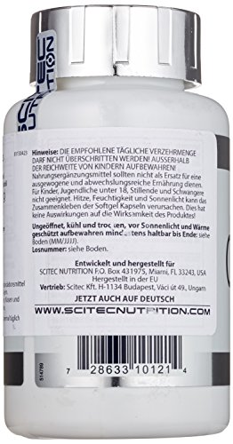 Scitec Nutrition Omega 3, 100 Kapseln, 1er Pack (1 x 140 g Dose) - 4
