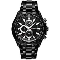 Curren Casual Watch For Men Analog Leather - 8023