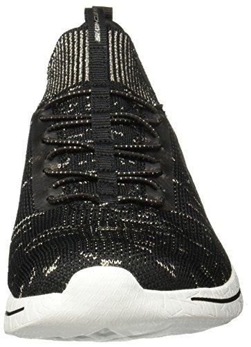 Skechers Burst 2.0 12662BKGD, Scarpe sportive Black/Gold