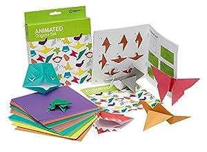 NPW Children's Origami Paper Craft -  Animated Origami Set