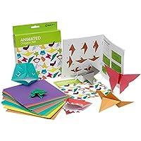 NPW Manualidades de origami con papel para niños - Juego de origami animado