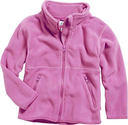 Playshoes Unisex - Baby Jacke Fleece-Jacke aus hochwertigem Fleece in blau oder pink von Playshoes, Art. 420011, Gr. 80, Rosa (18 pink)