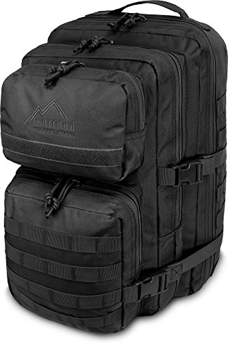 normani US Assault Pack Large Rucksack ca. 50 Liter Farbe Black