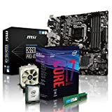 PC Aufrüstkit Intel, i7-8700 6x3.2 GHz, 16GB DDR4, Intel UHD Grafik 630-1GB, Mainboard Bundle, Tuning Kit, fertig montiert, Spiele Office