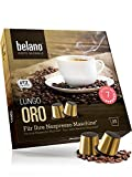 Nespresso kompatible Kapseln von Belano für Kapsel-Maschine - 25x Kaffeekapseln 100% Arabica Kaffee Stärke 7 Lungo Caffe Crema für Nespresso-Maschinen