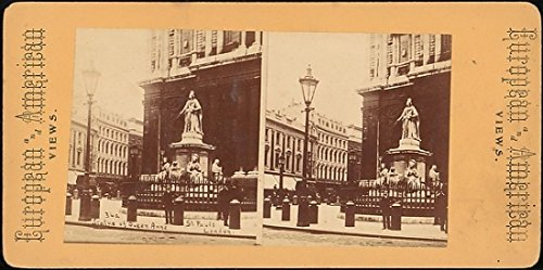The Poster Corp Unknown - Statue of Queen Anne St. Pauls London Kunstdruck (45,72 x 60,96 cm)