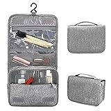 IWILCS Kulturbeute, Organizer Taschen Kosmetiktaschen, Portable Travel Folding Make-up Kulturbeutel...