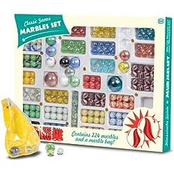 Pack con 224 Canicas de colores