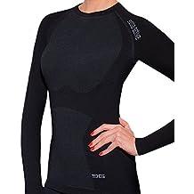 82e0d475c2397 Gatta Active Damen langarm T-Shirt Merino Wolle Skiunterwäsche Thermowäsche