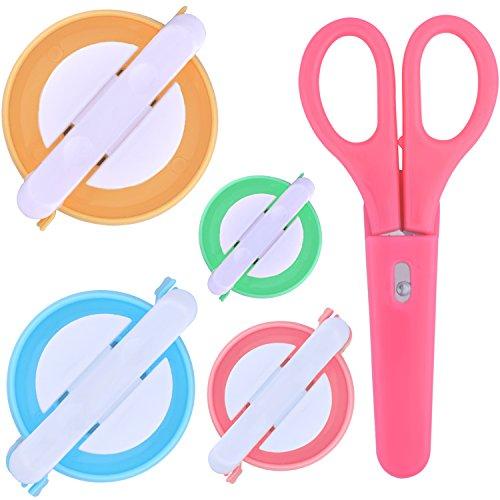 Instrumento para hacer pompones, 4 tamaños de aguja para hacer pompones con...