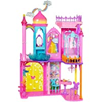 Barbie DPY39 - Dreamtopia Toy - Princess Castle Playset 95 Centimeter Tall - Furnished on all 3 Levels