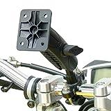 BuyBits Original Basis mit verlängerter Fahrradlenker U Bolt Teller Verstärker für Garmin Zumo Navigationsgerät