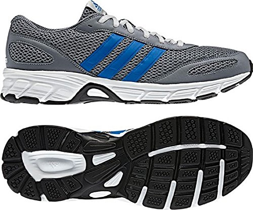 BLUEJECT M - Chaussures Running Homme Adidas - Grey / Royal / White