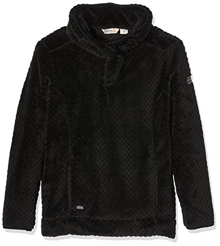 Regatta Ladies Heze Half Zip Fleece RRP £40 Black