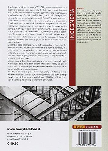 scaricare ebook gratis Costruzioni in acciaio. NTC2018, EC3, EC8 PDF Epub
