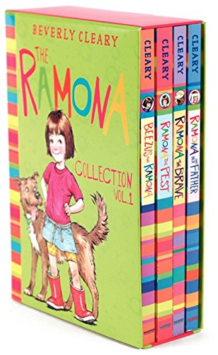 The Ramona Collection, Volume 1: Beezus and Ramona, Ramona and Her Father, Ramona the Brave, Ramona the Pest (Ramona Collections)