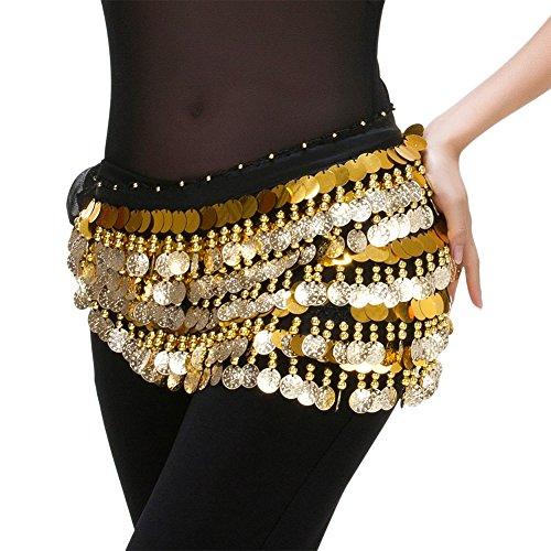 rtel Schal für Bauchtanz oder ägyptische Kostüme & Zigeuner Armband (Exotische Gypsy Kostüm)