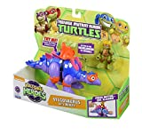 Teenage Mutant Ninja Turtles - Half-Shell Heroes - Tuh202 - Hsh - Stegosaurus con Mikey
