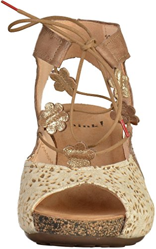 Think! 0-80578 femmes Sandale Taupe