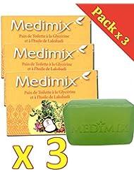MEDIMIX SAVON AYURVEDIQUE - Medimix Savon Ayurvédique à la Glycérine et à l'huile de LAKSHADI - x125...