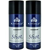 Men's Deo Shot 150ml Pack Of 2