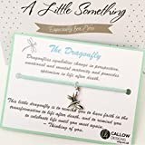 Best Loved Stories - The Dragonfly Story Meaning Quote Charm Bracelet Mint Review