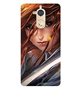 For Gionee S6 Pro cute girl, girl, 3d girl, beautiful girl Designer Printed High Quality Smooth Matte Protective Mobile Case Back Pouch Cover by APEX