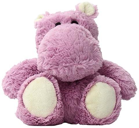 Soframar Cozy Plush Bouillotte Hippopotame