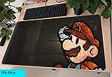 Mario Mauspad Gamer 900X400Mm Notbook Mauspad Gel Große Gaming Mousepad Handballenauflage Pad Maus Schreibtisch Padmouse Zubehör A