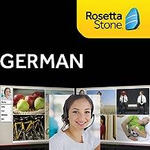 Rosetta Stone German, 12 Months Online Access (PC/Mac)