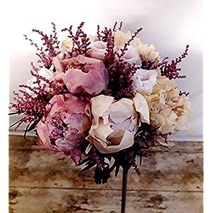 Peonias Preservadas Botones Rosas 10 Unidades Portes Gratis