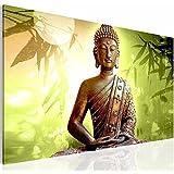 Bilder & Kunstdrucke Prestigeart, 5003137c Bild auf Leinwand, Buddha, 70 x 40 cm