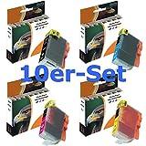 10er-Set D&C Druckerpatronen für Canon Pixma PGI-5 CLI-8 iP3300 iP3500 iP4200 iP4300 iP4500 iP5200 iP5200r iP5300 iX4000 iX5000 MP500 MP510 MP520 MP530 MP600 MP600R MP610 MP800 MP800R MP810 MP830 MP970 MX700
