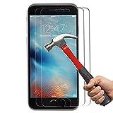 iPhone 6 Plus 6s Plus Schutzfolie, Anderw 2 St�ck Panzerglas iPhone 6 Plus 6s Plus, iPhone 6 Plus 6s Plus Displayschutzfolie, 9H H�rtegrad, 99% Transparenz Full HD, Einfaches Anbringen Bild
