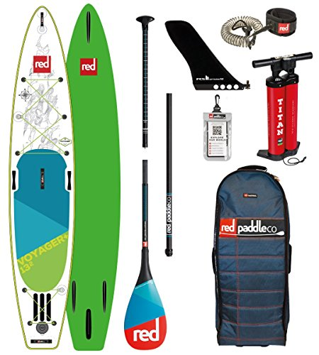 Red Paddle Co 2018 Voyager 13'2 Inflatable Stand Up Pad… | 05060345329551