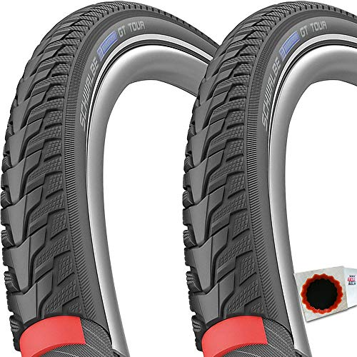 Schwalbe 2X Reifen Marathon GT Tour HS485 28x1,5 40-622 TS Reflex EC Perf. DG