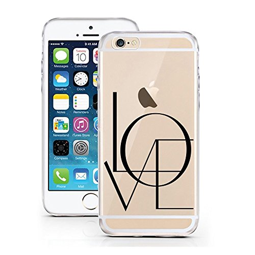 Blitz® FOYER motifs housse de protection transparent TPE caricature bande iPhone Vodka M4 iPhone 6 6s LOVE BIG M7