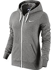 Nike - W NSW HOODIE FZ JRSY - Sweat-shirt - Gris