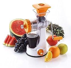 kitchen tool/gadget/accessories JucierFruit & Vegetable Clear Barrel Juicer Fruit creative design Juicer Manual / Fruit & Vegetable Juicer Enjoy Fresh & Hygenic Juices In Comfort Of Your Own Home color Multicolor - SWARA