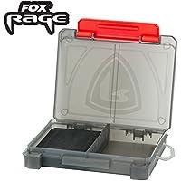 Angelkoffer Fox F Box 2 Compartment Box Angelbox Tacklebox f/ür Karpfenzubeh/ör und Kleinteile