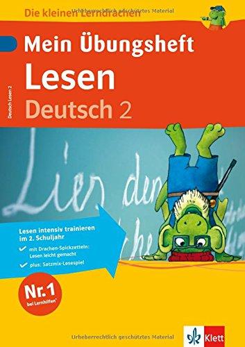 Mein Übungsheft Lesen 2. Klasse: Deutsch (Die kleinen Lerndrachen)