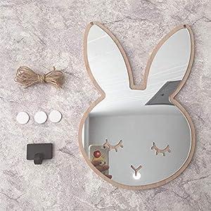 Eruditter Spiegel Wandaufkleber Kinderzimmer 3D, Spiegelaufkleber Selbstklebend Rund Kinder,runde Spiegel Aufkleber Wand…